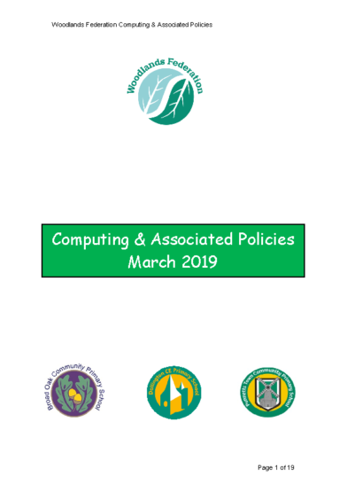 Computing & Associated Policies
