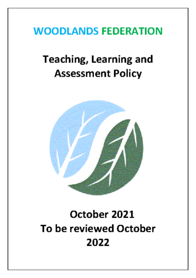 Teaching, Learning & Assessment Policy